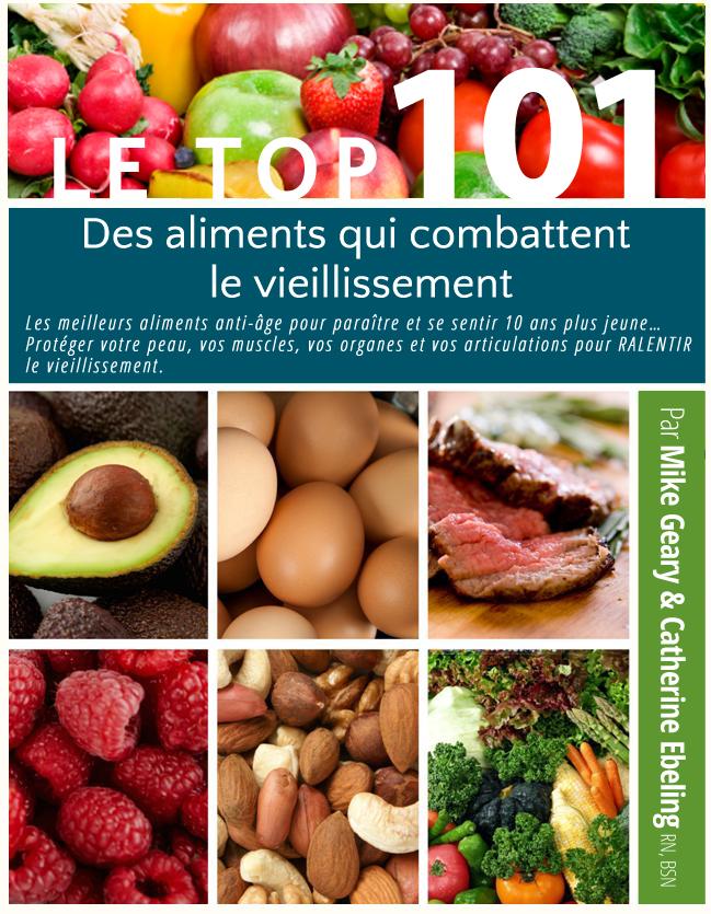 TOP 101 Aliments anti-vieillissement