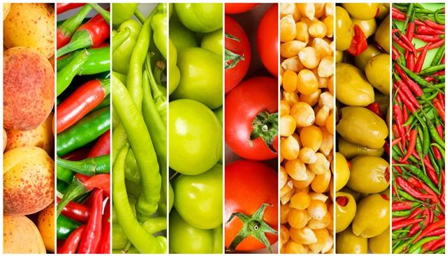 aliments équilibrés